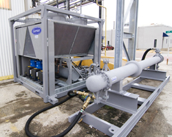 Custom Process Chiller. Coordinated by Chiller Services utilizing multiple vendors.